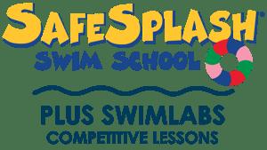 SafeSplash and Swimlabs Dual Swim School Logo