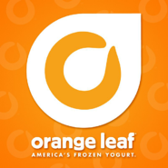 Orange Leaf Yogurt  logo