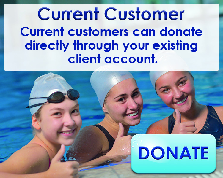Current Customers Swimming Lesson Donations