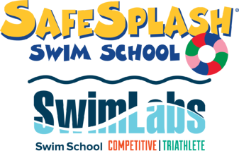 SafeSplash and SwimLabs Dual Swim Schools Logo