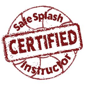 Safesplash Certified Swim Instructor Logo